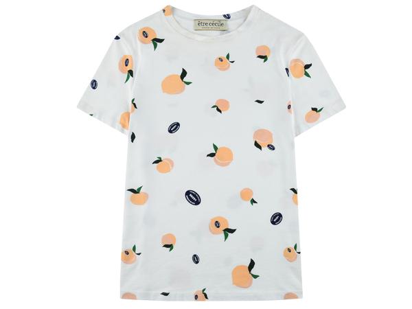 etre cecile peach shirt