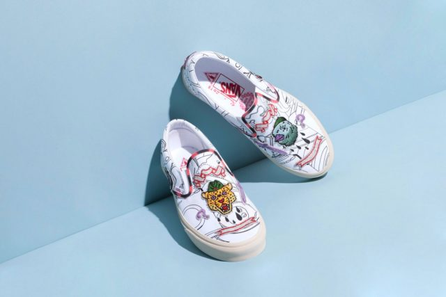 c03146f6fbbac9 Skate brand Vans has had many collaborations over the years. They ve  released pieces with Japanese artist Takashi Murakami and Kenzo creative  directors ...