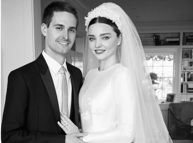 LOOK: Miranda Kerr\'s Wedding Gown Was Inspired By Grace Kelly - Preen