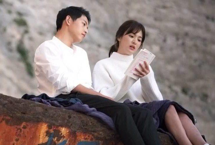 ผลการค้นหารูปภาพสำหรับ Song Hye Kyo and Song Joong Ki marriage
