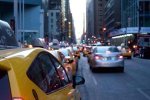 cars traffic ride sharing