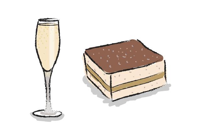 Champagne and Tiramisu
