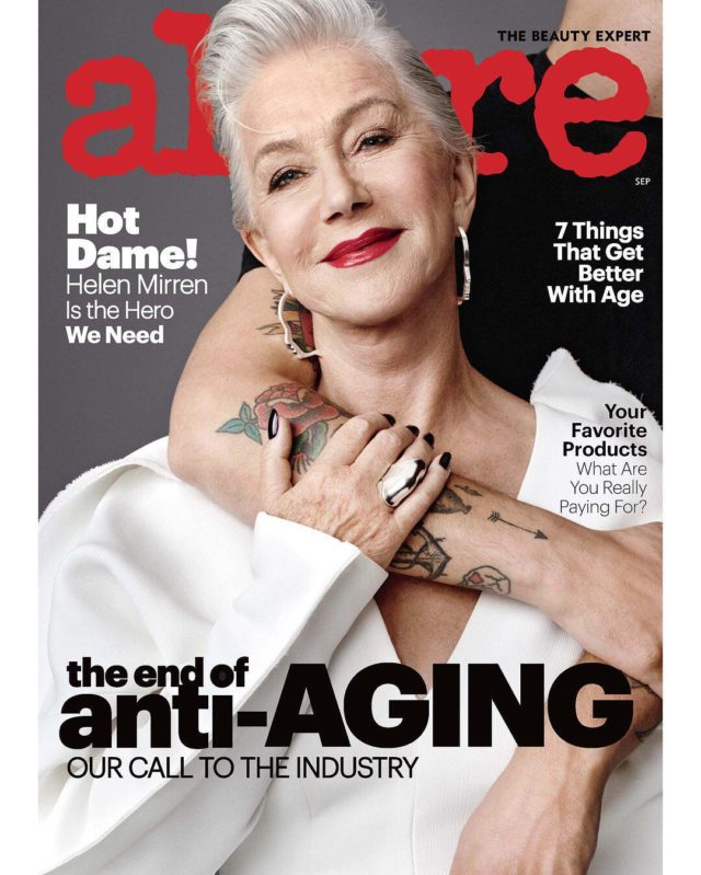 Dame Helen Mirren: 'I hated being a cliche of sexiness'