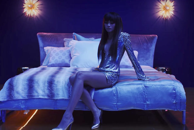 Zendaya Joins Bruno Mars in Shimmery 'Versace on the Floor' Music Video