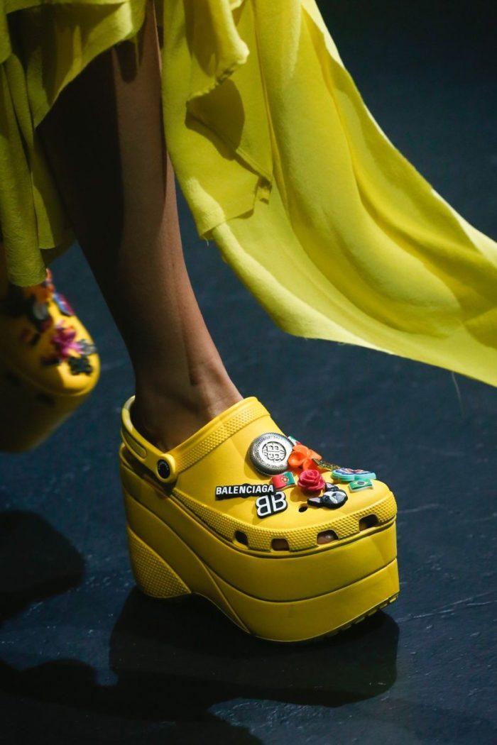 654048f1035fd4 Meet PFW SS18 s Trending Shoe  The Balenciaga Crocs - Preen.ph