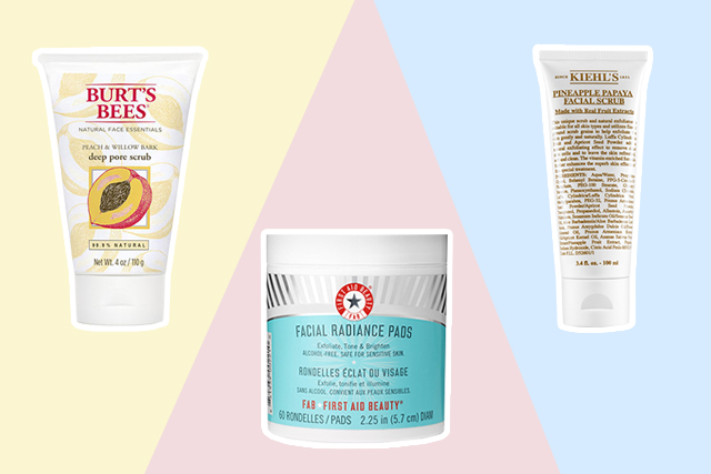 exfoliating products