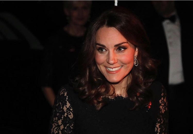 Kate Middleton steps out wearing handsome Diana hand-me-down