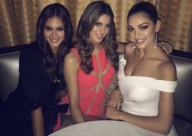 Pia Wurtzbach Iris Mittenaere And Demi Leigh Nel Peters