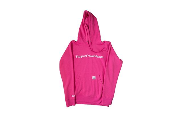 SYF_Hot Pink Hoodie