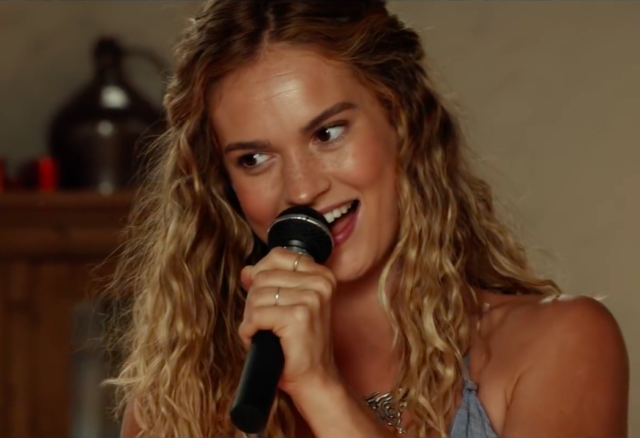 Lily James Sings ABBA in This New Trailer