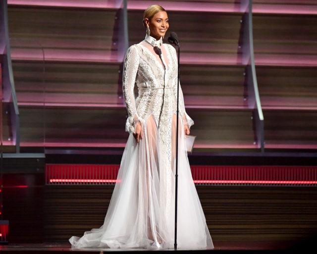 Beyonce Grammys Wedding Dress 2