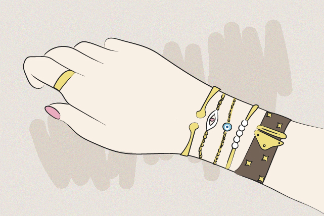 Accessory Obsessed? Start Layering Your Bracelets