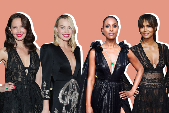 "fa257f49d1 This year s Golden Globes Awards was a show of solidarity against sexual  harassment in Hollywood. Every actor wore black and sported ""Time s Up""  pins in ..."