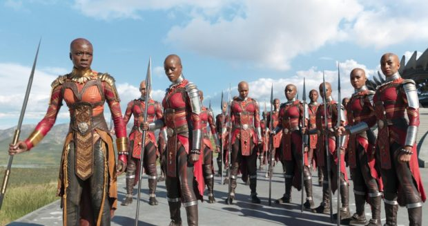 The Dora Milaje Costumes In Black Panther Has Filipino Elements Preen Ph