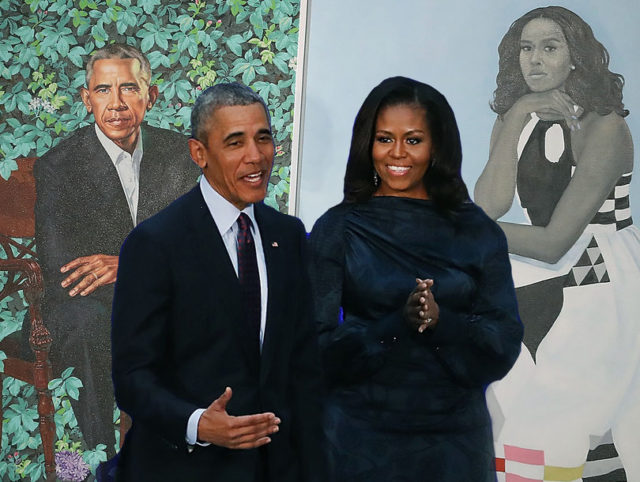 Obama Reveals Unconventional Portrait By Nigerian Painter