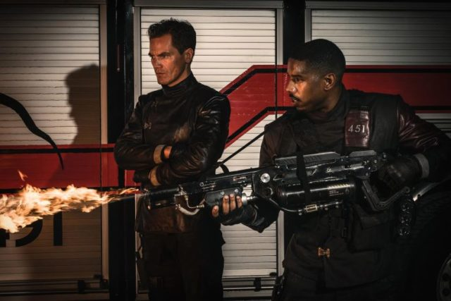 Jordan gets to burn it all in the 'Fahrenheit 451' trailer