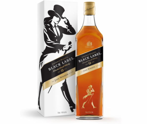 Diageo features a woman on its limited edition label, Jane Walker