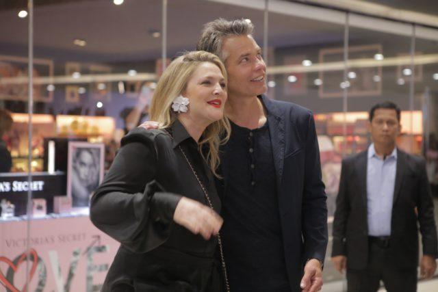 Spotted in Manila: Drew Barrymore Wears Earrings by a Filipino Designer