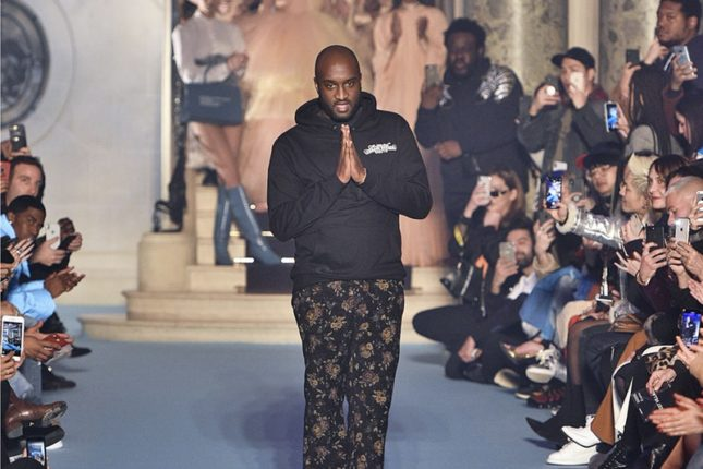 Virgil Abloh named Louis Vuitton's men's wear designer