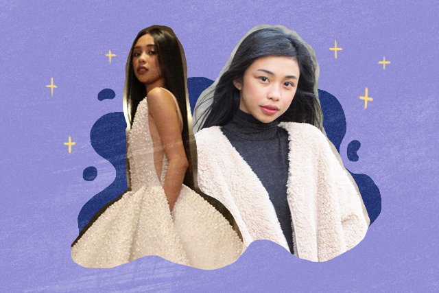 proof that maymay entrata is model like even on regular days preen
