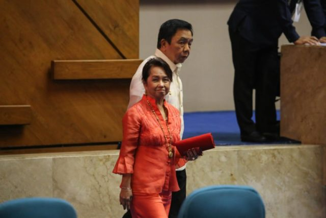 Arroyo takes oath as new Speaker