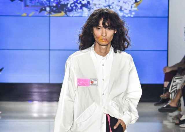 Filipino model Jullian Culas rocks the runway at New York Fashion Week