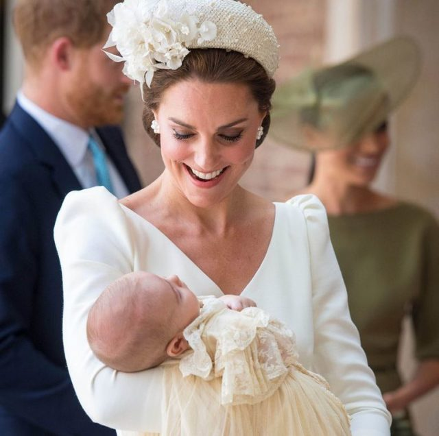 Aunt Meghan: Duchess of Sussex stuns in green at Prince Louis' christening