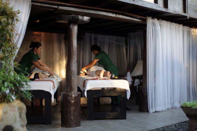nurture wellness village spa massage