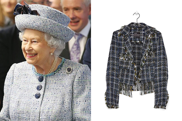 queen tweed jacket