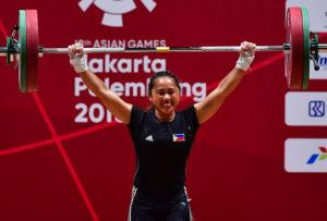 Hidilyn Diaz_Asian Games_AFP