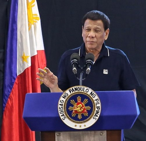 Philippine President Duterte blames `beautiful women` for cases of rape