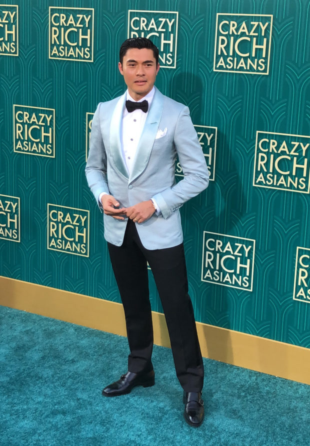 Henry Golding_Jade Carpet_Crazy Rich Asians