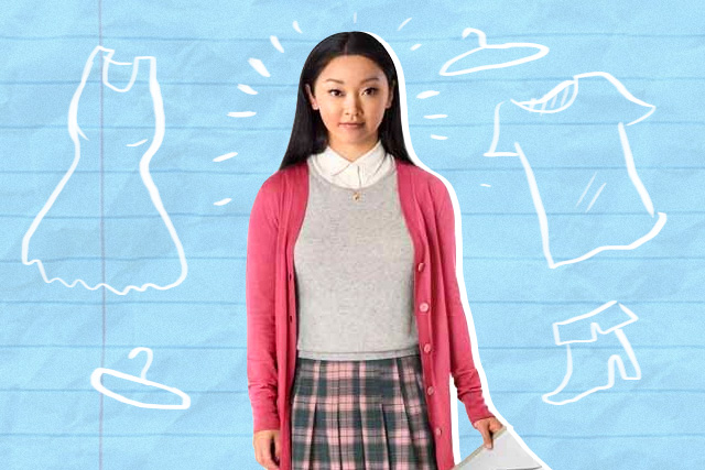 2643aa788a Let's take a break from the kilig and focus on Lara Jean Song Covey's  fashion on To All the Boys I've Loved Before. Her style was simple yet  playful, ...