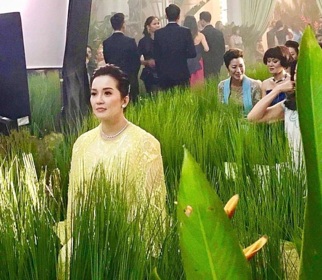 What you need to know about Kris Aquino\'s fully-embroidered Michael ...