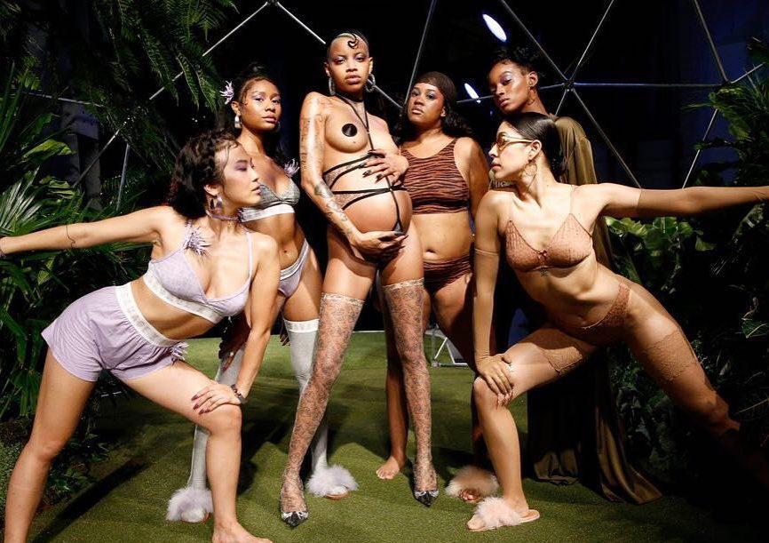 Slick Woods_Savage x Fenty_IG Courtesy_Pregnancy