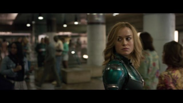 Captain Marvel Chronological Trailer Provides a New Perspective