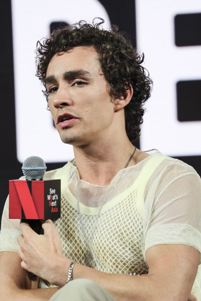 Robert sheehan_Netflix See What's Next: Asia - Day 1