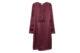 burgundy h&m dress
