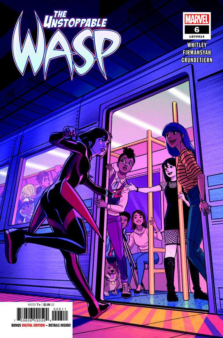 Unstoppable Wasp_Main Image_Comics