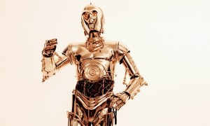 C-3PO Love magazine inside preen