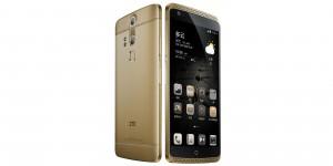 ZTE Axon Lux smartphone preen