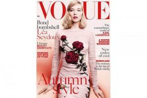 'Vogue' Writer in Hot Water over Sexist Joke About Bond Girl Lea Seydoux