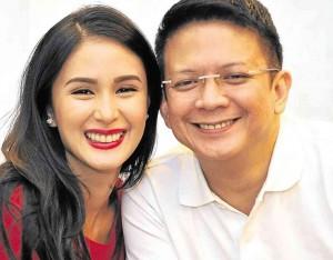 Heart Evangelista Won't Endorse Chiz Escudero's VP Campaign