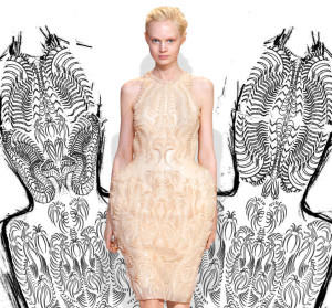 Designer Iris van Herpen Makes Couture Dresses From a 3D Printer