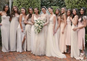 Who Were the Stylish Bunch Present During Georgina Wilson's Wedding?