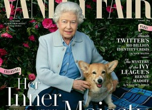 Queen Elizabeth II Fronts Latest Issue of 'Vanity Fair'