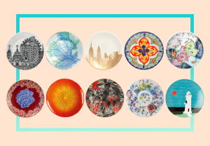 Liven Up Dinner Parties With These 10 Artsy Plates