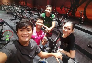 Is Sarah Geronimo Training for a Triathlon?