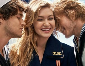 Gigi Hadid Turns Into a Sailor for a New Fragrance Campaign