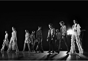 WATCH: Balmain's Latest Collection Stars in Kanye West's 'Wolves'